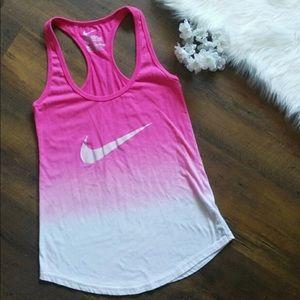 Ombré Nike Check Tank